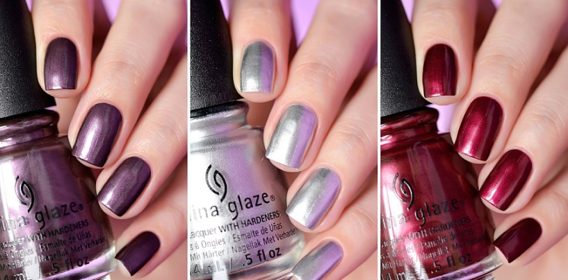 China Glaze — «No Peeking!», «I'd Melt For You», «Define Good…»