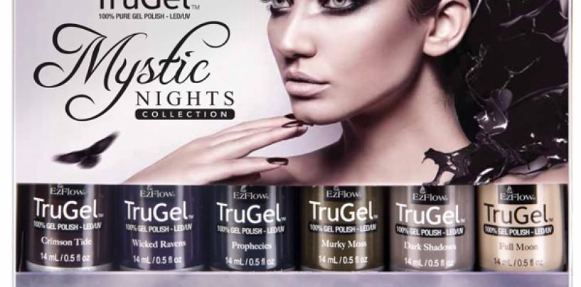 EzFlow TruGel Mystic Nights — новая коллекция гелевых лаков