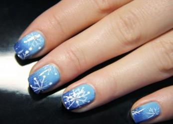 Снежный дизайн China Glaze совместно с порталом I-GENCY