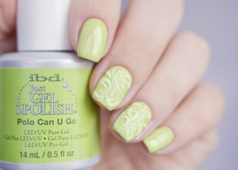 Нежная зелень .ibd. Just Gel Polish Polo Can U Go