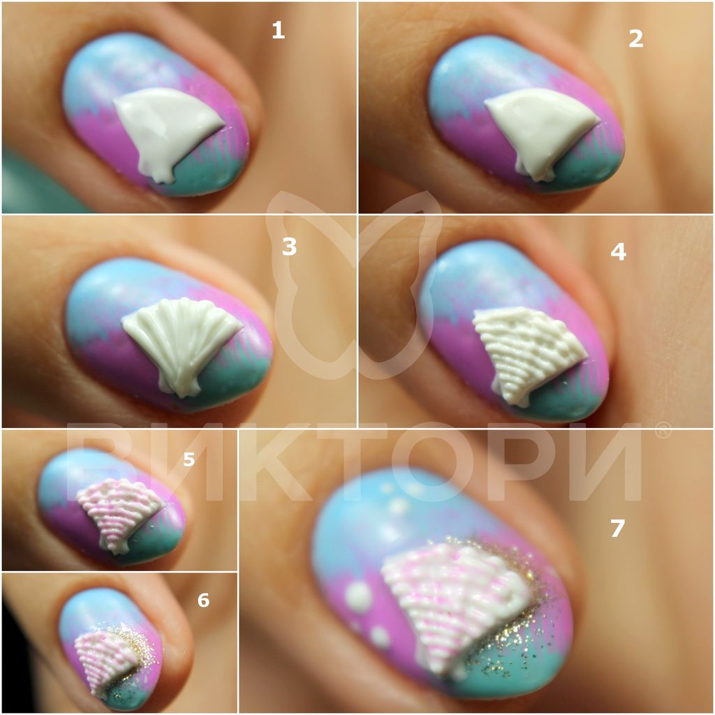 ibd-dreamsnails-for-victory-nailart-tutorial-3d-shells (3)