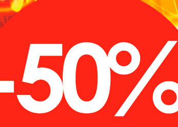 ДЕЛАЙ НОГТИ! Скидки до 50% весь октябрь!