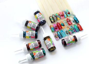 Новое слово в дизайне ногтей! Универсальный краситель Color Drops Effect