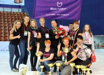 Команда «ВИКТОРИ» на международном Чемпионате «Невские берега»
