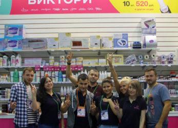 Компания «ВИКТОРИ» на выставке «Невские берега»
